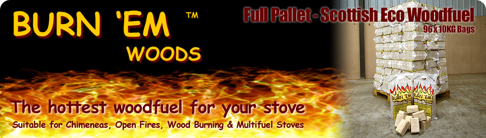 Burn em Woods full pallet